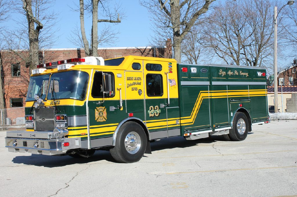 Design Squad Website >> BRYN MAWR FIRE COMPANY - TYPHOON RESCUE PUMPER - First Choice Fire Apparatus